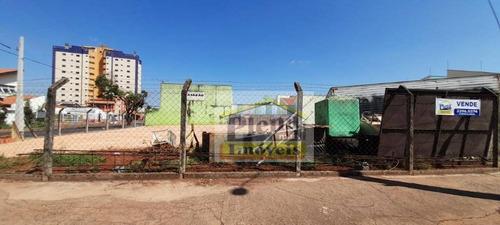 Terreno À Venda, 800 M² Por R$ 650.000,00 - Parque Residencial Casarão - Sumaré/sp - Te0919