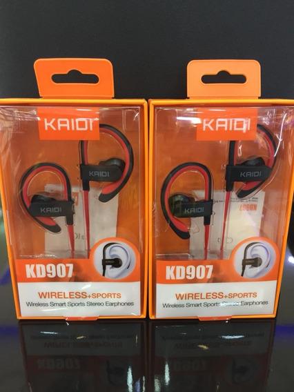 Fone De Ouvido Wireless Sports C/gancho Kaidi Smart Original