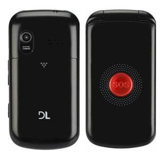 Celular Dl Yc-130 Dual Chip Botão Sos Câmera Pronta Entrega