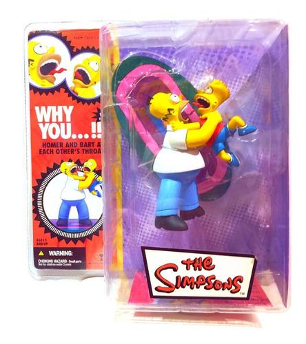 Los Simpson Figura Bart Y Homero (nuevo) Mcfarlane