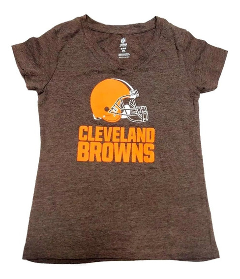 Remera Cleveland Browns Talle M 8 Girls Nfl Football