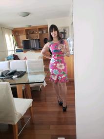 Vestido Viscolycra Manga Pacote Com 10 Peças