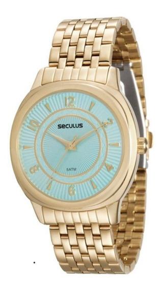 Relógio Seculus Feminino 20505lpsvds1, C/ Garantia E Nf