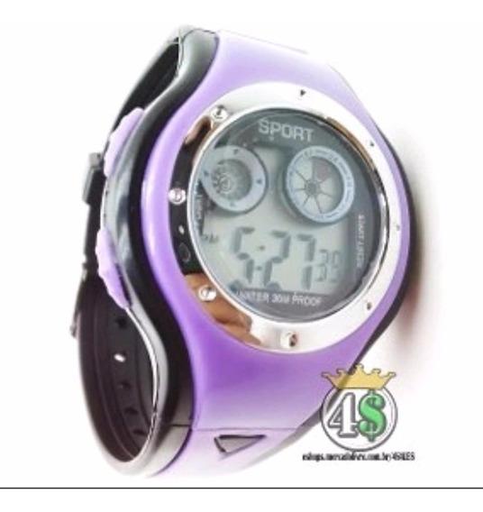 Relógio Masculino Infantil Digital C/ Led
