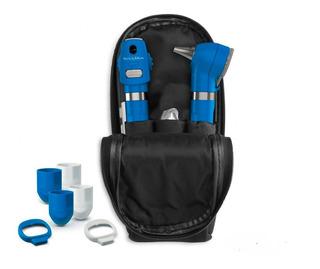 Welch Allyn Set Otoscopio Oftalmoscopio Pocket Led Azul