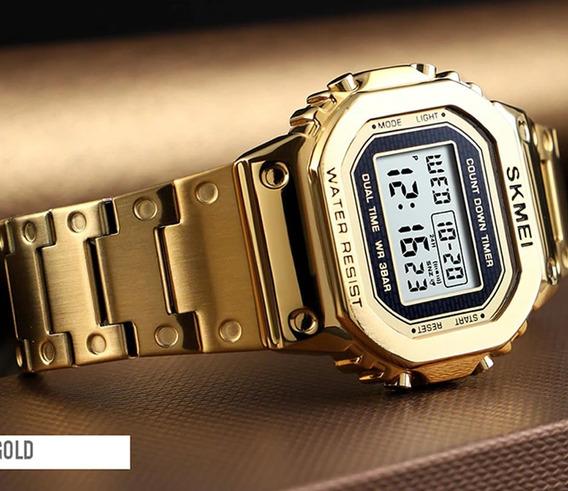 Relógio Feminino Skmei 1433 Digital Unissex Garantia Nf