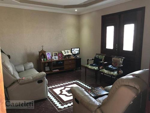 Casa Com 3 Dormitórios À Venda, 150 M² Por R$ 530.000,00 - Jardim Carlos Lourenço - Campinas/sp - Ca2049