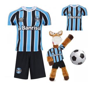 Gremio Infantil + Camisa Adulto + Cavalinho + Bola