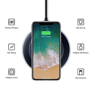 Cargador Inalámbrico iPhone X88 Plus Samsung Galaxy Note 8s8