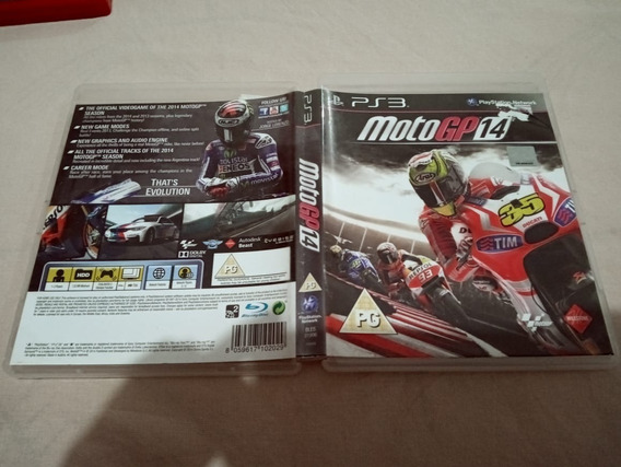 Motogp Moto Gp 14 Usado Play3 Ps3 44#