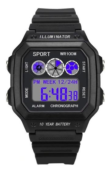 Relógio De Pulso Masculino Esportivo Digital Barato Promoção