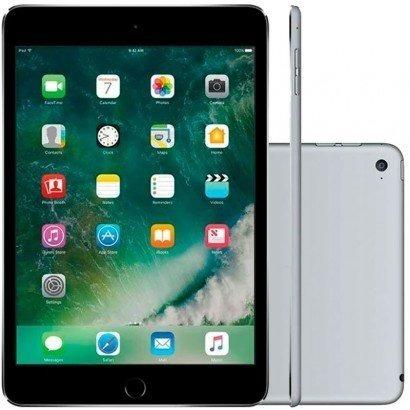 Tablet Apple iPad Mini 4 Wi-fi 128gb Cinza Mk9n2