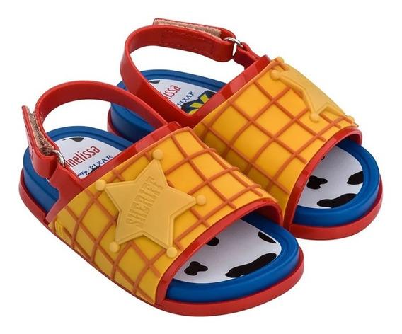 Mini Melissa Beach Slide + Toy Story Woody - Original - Nf