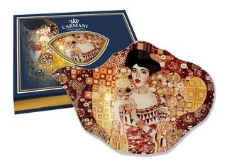 Plato Bolsa De Te Adele En Cristal 15 X 11.4 Cm