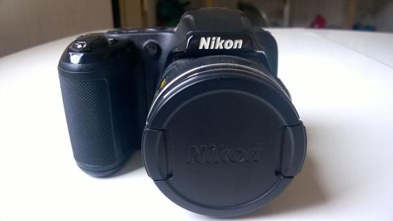 Câmera Nikon Colpix L810 (semi-nova)