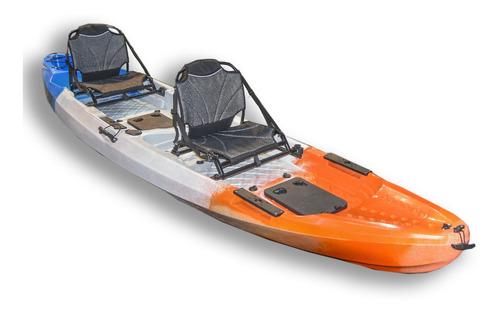 Kayak Verado Doble De Pesca Asiento Porta Caña Nautica