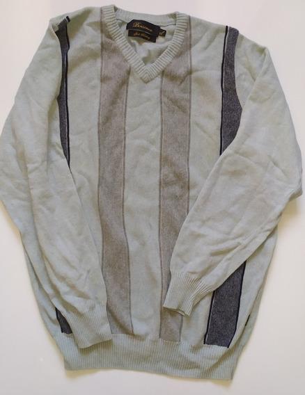 Sweater Hombre Marca Bensimon Lana Talle Xl