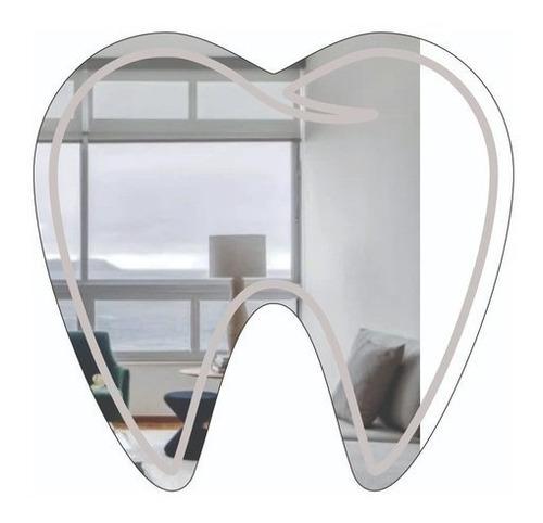 Espelho Decorativo Profissões - Dentista - Presente Perfeito
