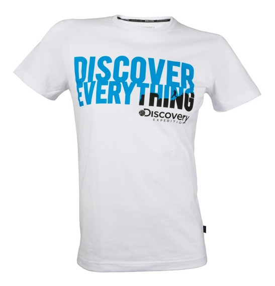 Playera Discovery Discover Everything
