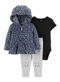 Moletom Carters Fleece Soft Roupa De Bebê Menina E Menino