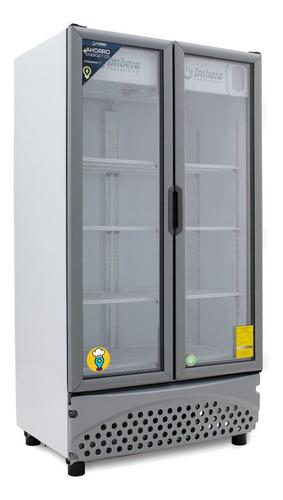 Refrigerador Exhibición Vr-26 Pies - 2 Puertas Marca Imbera