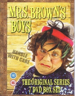 Mrs Browns Boys (7 Dvd Set) La Serie Original (cert 15)
