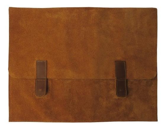 Porta Notebook De Cuero 15 Pulgadas