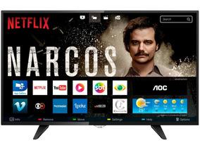 Smart Tv Led 32 Aoc - Conversor Digital Wi-fi 3 Frete Gráti