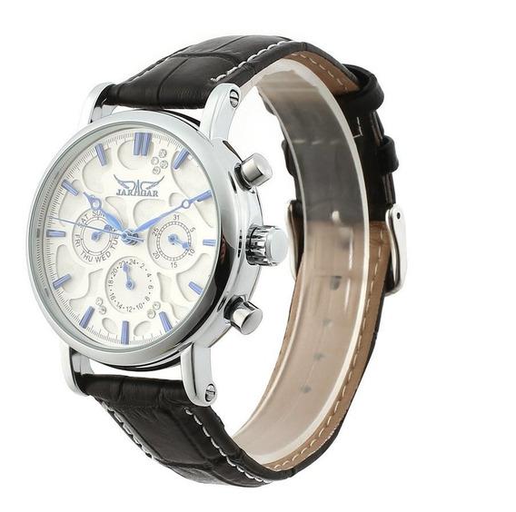 Jaragar Full Automático Relógio Mecânico Negócios Relógio Mu