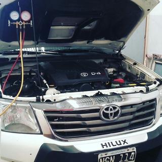 Carga Aire Acondicionado R134 Gas Ecologico Autos Zona Moron