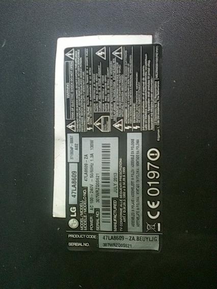 Vendo Repuesto Tv Lg Modelo 47la8609
