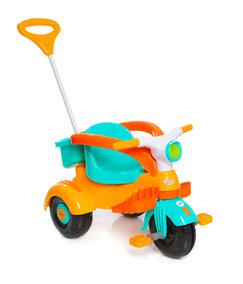 Carrinho Motoca Triciclo Infantil Velocita Amarelo Calesita