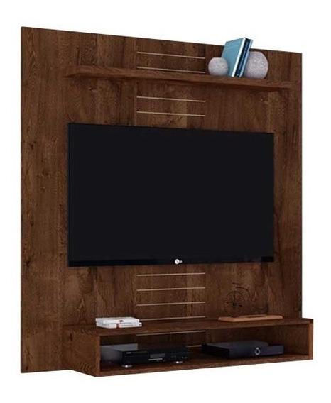 Painel Para Tv Ate 47 Smart Rustico Malbec(i)