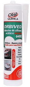 Silicone Acético Incolor  - 280ml Orbi Química