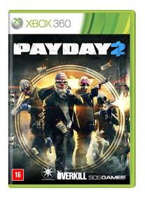 Jogo Payday 2 Xbox 360 Mídia Fìsica Pronta Entrega