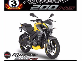 Rouser 200 Ns Nacked Sport Laser Edge Mega Black Friday