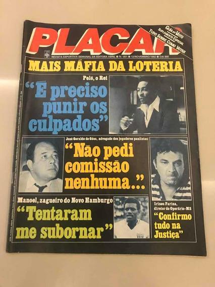 Revista Placar Edição N° 651 12 Novembro 1982