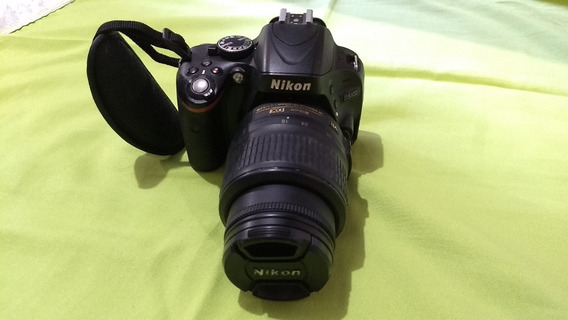 Câmera Nikon D5100 Dslr + Lente 18-55mm + Mochila + Brindes