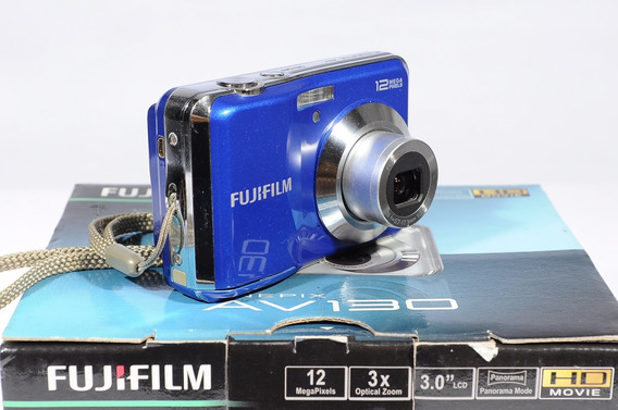 Camara Digital Fujifilm Av130 12mpx Video Super Oferta
