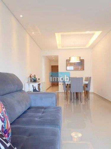Imagem 1 de 24 de Apartamento Com 2 Dormitórios À Venda, 80 M² Por R$ 480.000,00 - Encruzilhada - Santos/sp - Ap6263
