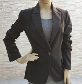125d2bcdd4 Blazer   Casaco Feminino Zara Risca De Giz Cinza
