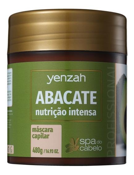 Yenzah Spa Dos Cabelos Abacate - Máscara 480g - Blz
