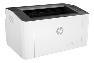 Impresora Hp Laserjet 107a Blanca Y Negra Garantia Oficial