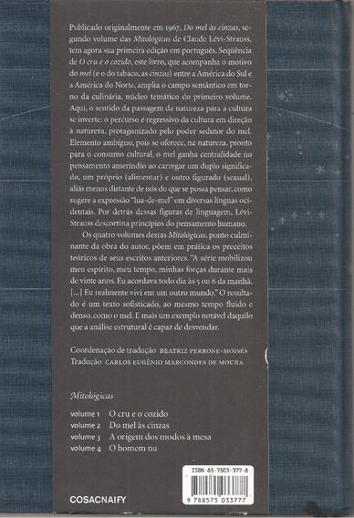 K18 - Do Mel Às Cinzas - Claude Lévi-strauss