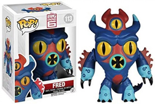Funko Pop Big Hero 6 Fred 113 Funkopop Z