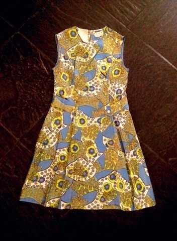 Vestido Frances, Retro, Vintage. Talle 38