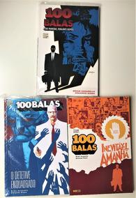 Lote 3 Revistas Hq - Vertigo 100 Balas Vol.1, 4 E 6 -panini