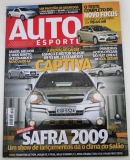 Revista Auto Esporte - Captiva Focus Audi Linea Vectra Gol