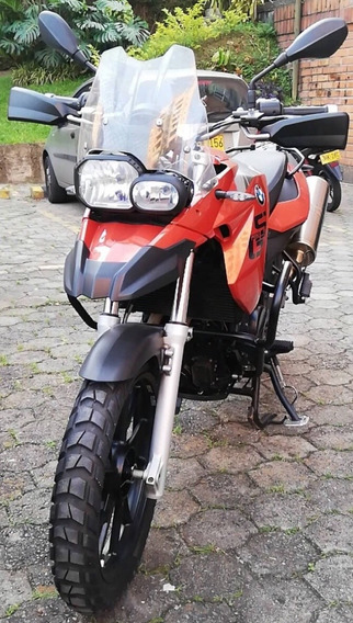 Bmw F650 Gs 800 Cc Naranja Metal