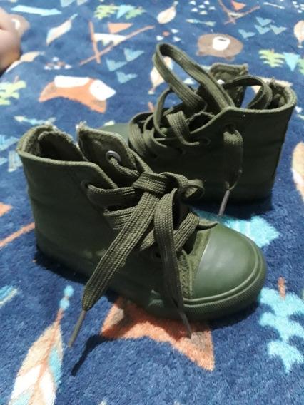 Zapatillas Cheeky Lona Verde